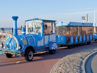 Scheveningen strand Boulevardtrein