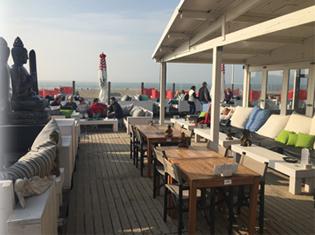 Scheveningen strand beachclub bliss