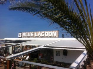 Scheveningen strand blue lagoon