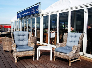 Scheveningen strand Carlton beachclub