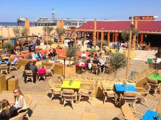 Scheveningen strand el nino beachclub