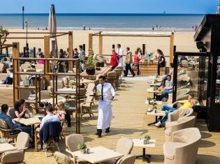 Scheveningen strand Oceans beach house