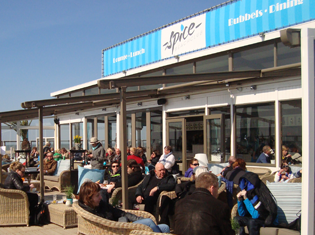 Scheveningen strand Spice beachclub