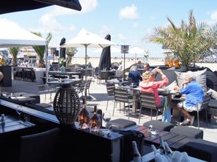 Scheveningen strand Strandclub WIJ