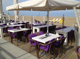 Scheveningen strand Wensveen beach restaurant