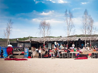 Scheveningen strand Whoosah